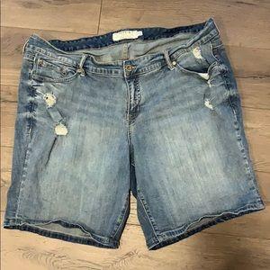 Torrid women's 22 blue denim jeans